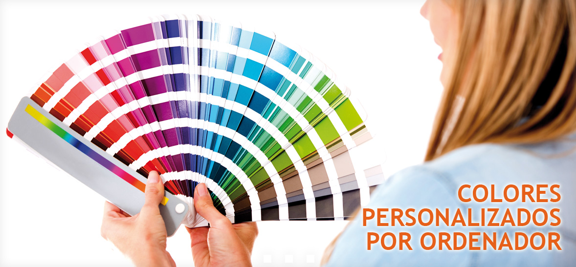 Sistema Tintométrico: Colores Personalizados por ordenador