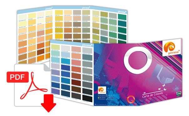 Descargar Carta de Colores Pinresa